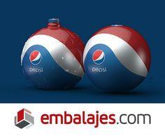 """Pepsi ha creado un #envase que se convierte, ni más ni menos, en un balón. Se llama """"Bottle ball"""" y es idea del diseñador croata Tomislav Zvoranic. #PortalEmbalajesOriginal #PortalEmbalajes #PortalEmbalajes #Packaging #Envase #Pepsi #Balón"""