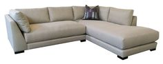 Again, just considering the lines/style of this sofa - color and configuration are customizable.  You know what, click through and look at all the sectional options at Monarch, and you tell me what you like. :)  This is Geo | Monarch Sofas