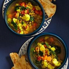Slow-Cooker Moroccan Lentil Soup - EatingWell.com