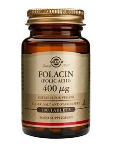 Solgar Folic Acid 400mcg Tablets X 100 Folic Acid is important for pregnant women as it contributes to the normal growth of the foetus. Like other B vitamins, Folic Acid supports energy metabolism, heart and nervous system health.Each tabl http://www.MightGet.com/january-2017-11/solgar-folic-acid-400mcg-tablets-x-100.asp
