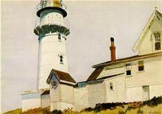 Light at Two lights - Edward Hopper