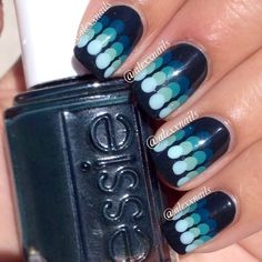Ombre dots - so cool and so easy to do!