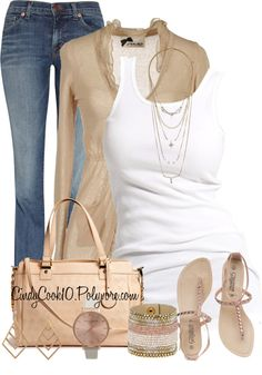 """""""Casual/Cute"""" by cindycook10 on Polyvore"""