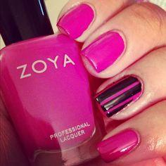 Zoya Nail Polish i Reagan shared via Instagram: electricbrrrd