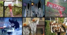 Easy halloween decorations ideas Wall 46 Successful Diy Outdoor Halloween Decorating Ideas Nobody Told You About Homedesigninspired 46 Successful Diy Outdoor Halloween Decorating Ideas Nobody Told You Casa Halloween, Outdoor Halloween, Halloween Crafts, Halloween Ideas, Haunted Halloween, Creepy Halloween Decorations, Diy Trellis, Backyard Seating, Fun Crafts For Kids