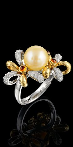 Master Exclusive Jewellery - Bouquet of Love ring.