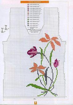 Discover thousands of images about Žakardinis mezgimas Form Crochet, Crochet Diagram, Filet Crochet, Knit Crochet, Knitting Charts, Knitting Stitches, Knitting Designs, Baby Knitting, Knitting Sweaters