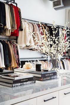 Kate Moss, Monica Rose, Closet Island, Celebrity Closets, Celebrity Style, Luxury Closet, Bohemian Style Bedrooms, Dream Closets, Classy Closets