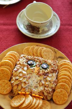 Owl Cheese Ball #cre
