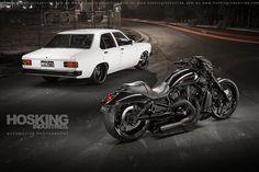Nicks Torana and Night Rod by HoskingInd Automotive Photography, Kustom, Transportation, Photoshoot, Black And White, Vehicles, Cgi, Trucks, Candy