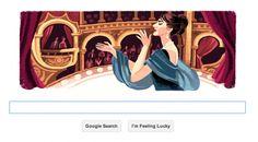 """Google Doodle : le 90e anniversaire de Maria Callas, """"la Bible de l'opéra"""""""