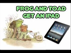 """In this movie 1st grade students write & perform their own original story """"Frog and Toad Get an iPad!"""" using Puppet Pals app"""