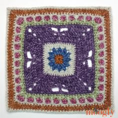 Block #24 in the 2016 Moogly Crochet Along! All patterns free!