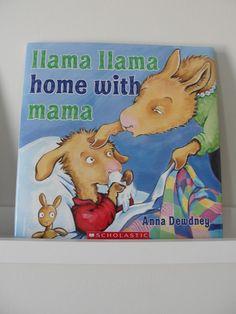 best bedtime book LLAMA LLAMA HOME WITH MAMA by anna dewdney