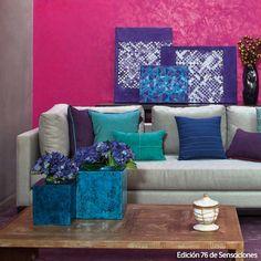 Deja que tus paredes hablen y exprésate a través de ellas con nuestra línea #Effex.   #Comex #tips #hogar #DIY #Consejos