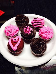 Red velvet chocolate cup cakes
