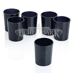 Black Glass Round Votive Candle Holders Set of 12 Light I... https://www.amazon.com/dp/B00N9B2K46/ref=cm_sw_r_pi_dp_x_YECVybFQS75EV