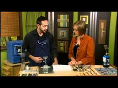 1505-2 Nate Perea shows how to make lampwork beads on Beads, Baubles & Jewels