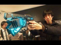 This Dominator Replica Gun From 'Psycho Pass' Can Actually Transform