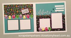 Based on page layout designed by Kaylene Peters, this layout, created by Denise…