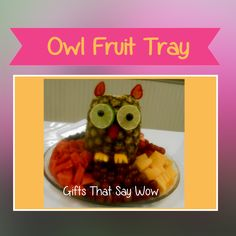 Image result for owl party foods