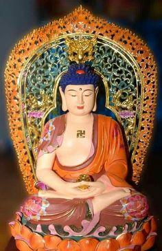 Amitabha Buddha, Golden Buddha, Buddha Sculpture, Buddhist Art, Buddhism, Meditation, Lord, Princess Zelda, The Incredibles