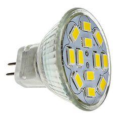 MR11 6W 12x5730SMD 550-570LM 2700-3000K warm wit licht LED-spotlamp (12V)  – EUR € 2.87