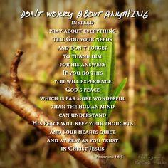 #bibleverse #worry #trust #prayer #teamjesus #scripture #randomthoughtsofaservant