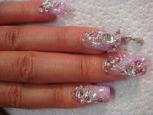 3D Nail Art - So sparkly