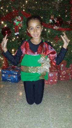 disfraz regalo de navidad