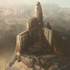ArtStation - Citadel Iso, Lucas Helmintoller