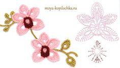 25 patrones en diagrama de ganchillo de flores para descargar gratis