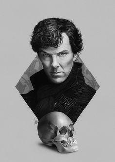 Sherlock. Beautiful art!