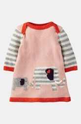 Mini Boden 'My Baby' Knit Dress (Infant)