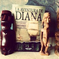 Atolones donde tribus extrañas rinden culto a sus idolos, Islas a evitar y otras a explorar en el Blue Ocean. La Aventura de Diana.
