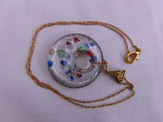 Necklace Jewellery Pendant Accessories Clear by OswestryJewels