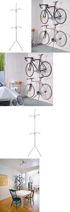 Bicycle Stands and Storage 158997: Bike Rack Storage Indoor Outdoor Garage Wall Mount Stand Bicycle Hanging Cycling -> BUY IT NOW ONLY: $46.79 on eBay!