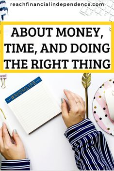 About money, time, and doing the right thing. I love saving money. And I have the luxury of having time in my life since I don't work anymore, so I have been known to go into great length to save money. Financial Literacy, Financial Goals, Ways To Save Money, How To Make Money, Money Tips, Saving Tips, Saving Money, Creating Wealth, Money Management