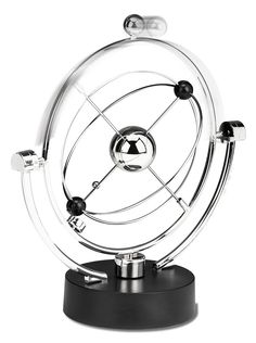 Perpetual Motion Desk Sculpture Toy - Kinetic Art Galaxy Planet Balance Mobile - Magnetic Executive Office Home Décor Tabletop Fun Science Toys - Men Women Anxiety Stress Relief by Perfect Life Ideas *** You can find more details by visiting the image link. (This is an affiliate link and I receive a commission for the sales)
