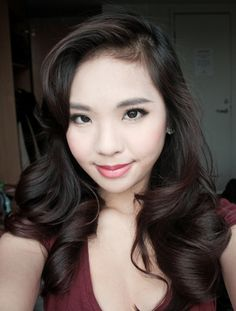 Dita Von Teese Inspired Hair Tutorial