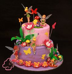 Tinkerbell Cake - Gloria Cake