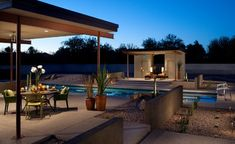 olympic length pool and contemporary ramadas 1 - Modern - Pool - Phoenix - Link Architecture, PC