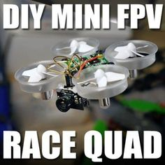 Build a Tiny Whoop! DIY mod with an Inductrix for micro indoor FPV!