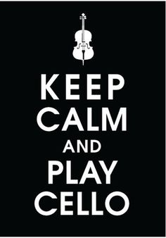 The cello sounds amazing, I play, I'm not very good, but I love my teacher and hopefully one day will be able to play better