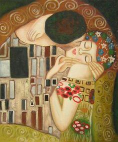 polibek, muž a žena, moderní umění, obraz do bytu.