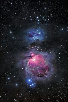 The Orion Nebula and Running Man