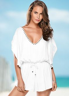 Come discover women's swimwear & bathing suit cover-ups & beach dresses by VENUS. We have all the looks necessary to own the beach this year, including tunics, swim skirts, board shorts, wrap skirts and more! Bathing Suit Covers, Bathing Suits, Easy Beach Hairstyles, Beach Braids, Swimwear Fashion, Women's Swimwear, Swim Skirt, One Piece Suit, Beach Bunny
