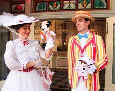 Mary Poppins And Bert, Disney Face Characters, Jolly Holiday, Brass Band, Disney Girls, Disneyland, Parks, Harajuku, Princess