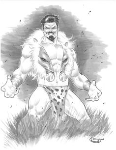 Kraven the Hunter Comic Art