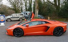 The Lamborghini Aventador is one beautiful beast of a car